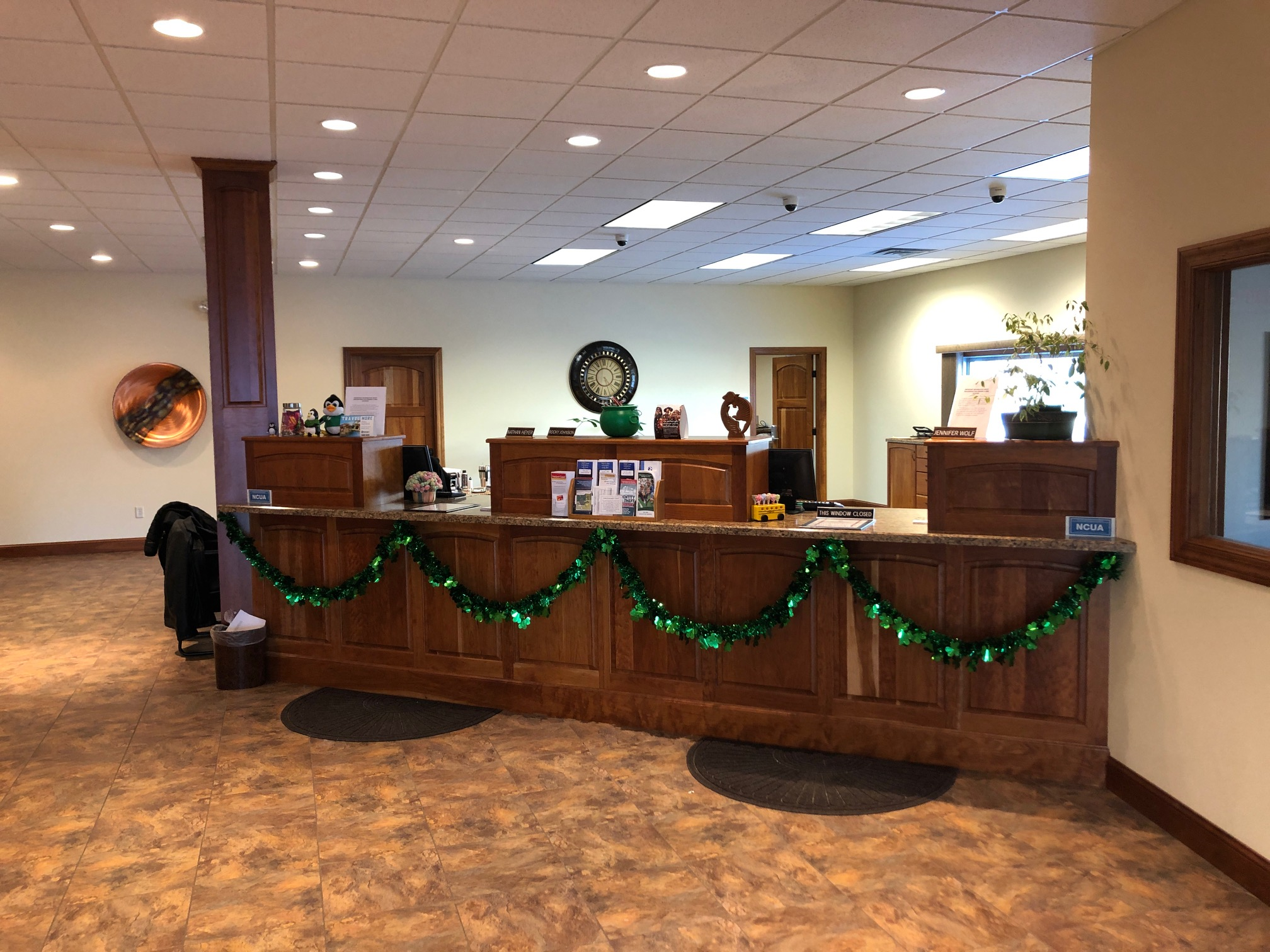south office teller counter