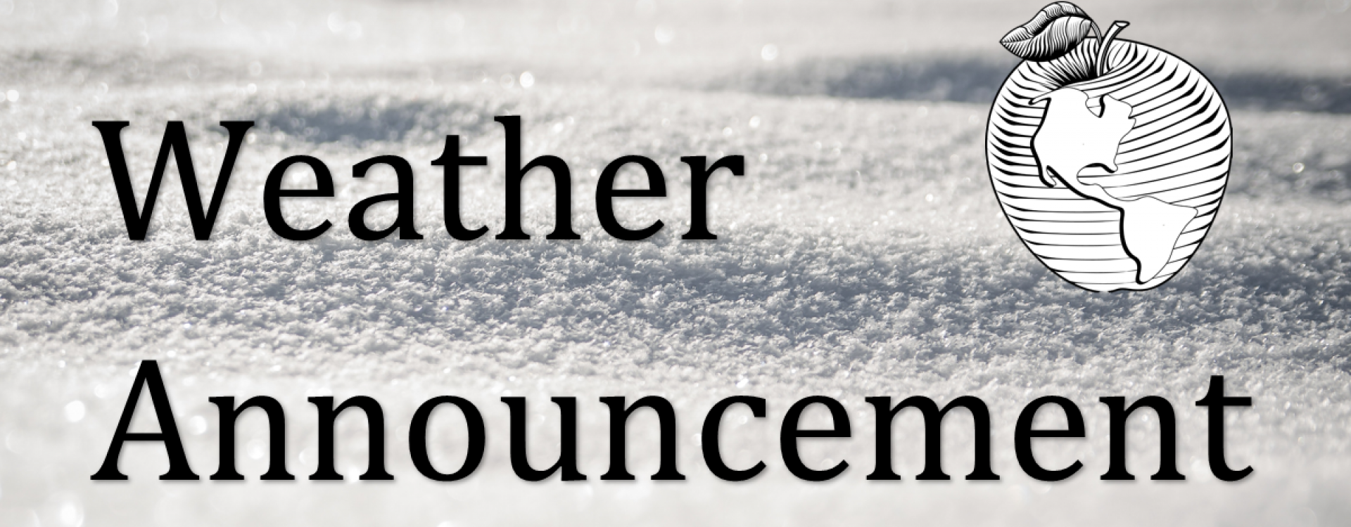 snow_weather announcement